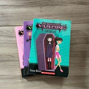 Bundle of 3 My Sister the Vampire books